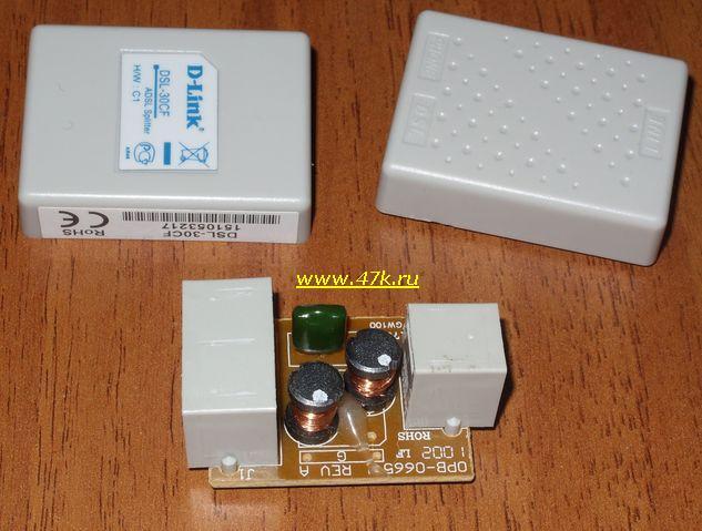 ADSL Splitter D-Link DSL-30CF